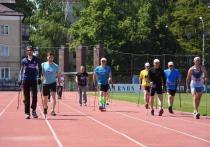 В Курске прошли соревнования по северной ходьбе