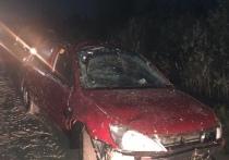 Девушка из-за невнимательности перевернулась под Тверью на автомобиле