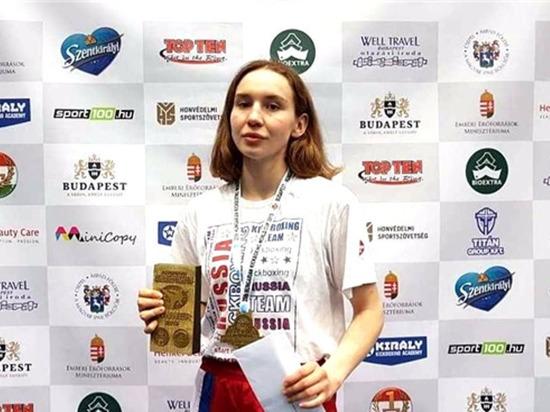 Чебоксарская кикбоксерша завоевала четвертое «золото» Кубка мира