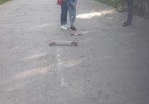 В районе рязанского Лесопарка велосипедист сбил ребенка на самокате