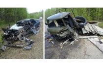 Смертельное ДТП под Коношей: две машины в хлам, двое погибших