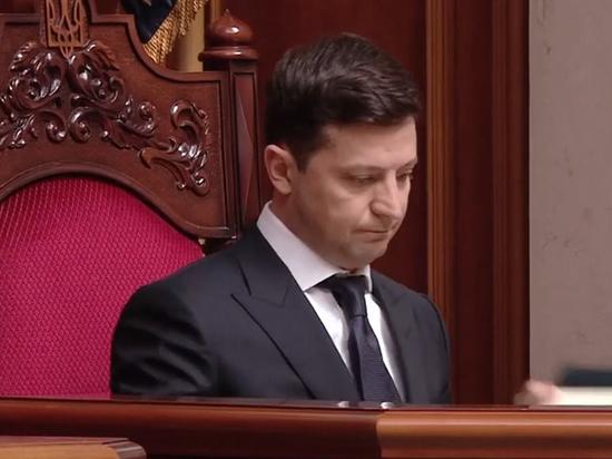 Президентское удостоверение Зеленского упало на пол: плохой знак