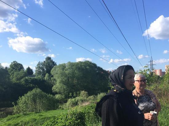 В Москве подросток сгорел на месте, задев удочкой электропровода