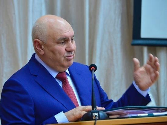 Первый замминистра сельского хозяйства России Джамбулат Хатуов посетил Туву
