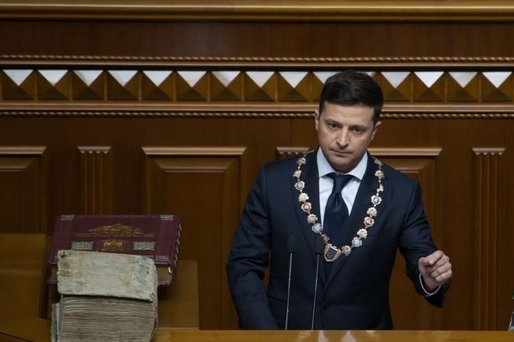 Полный текст речи Зеленского на инаугурации: «Чтобы украинцы не плакали»
