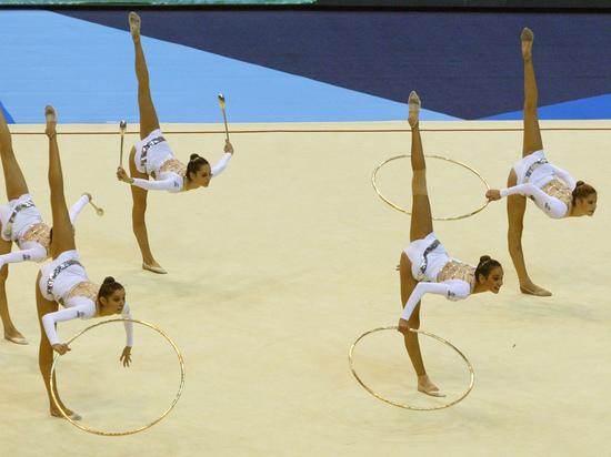 В Баку прошел чемпионат континента по художественной гимнастике