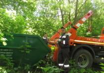 Региональный оператор «МСК-НТ» вывез мусор из парка усадьбы Федяшево