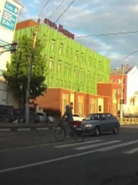 В Иванове пенсионерка на велосипеде получила сотрясение мозга и штраф
