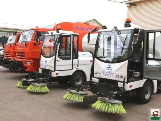 Уфа получила четыре новых уборочных машины