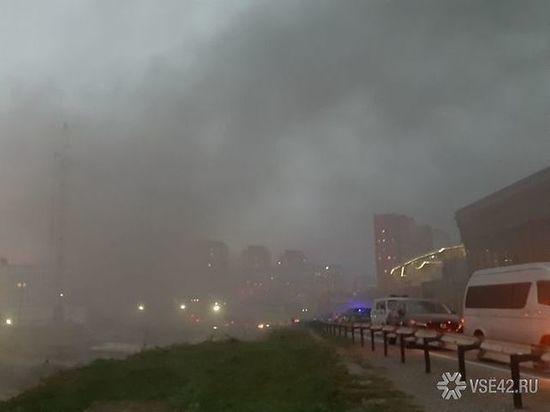 Едкий дым в центре Кемерова не даёт горожанам вдохнуть полной грудью