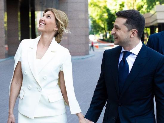 Наряд супруги Елены стал хитом инаугурации Зеленского