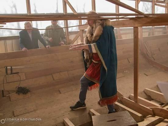 В Петрозаводске высадился десант норвежских викингов