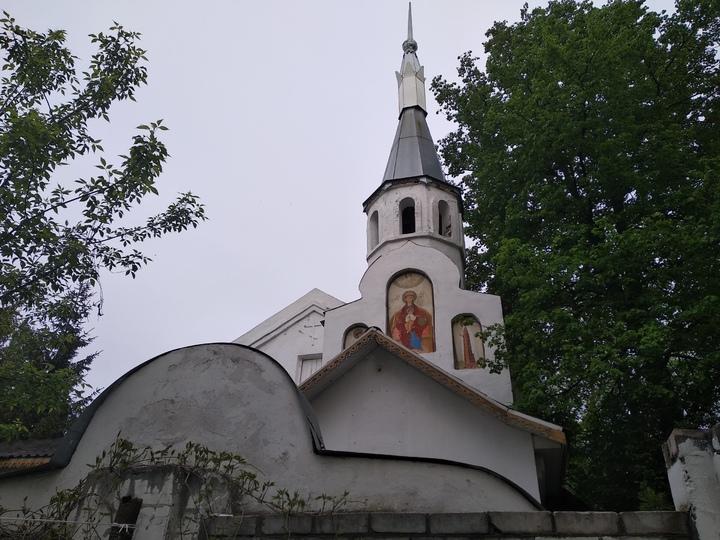 Мой путь: Яблоневый сад - церковь Рождества Богородицы