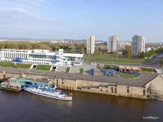 Речная навигация открылась в Комсомольске-на-Амуре