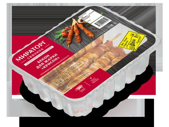 «Мираторг» начал производство бекона для жарки «Криспи»