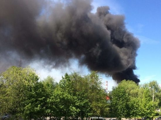 Пожар в гаражном кооперативе переполошил Рыбинск