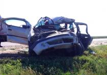 В Астраханской области на трассе погиб автомобилист