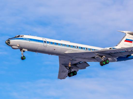 Из Иркутска в последний раз вылетел Ту-134