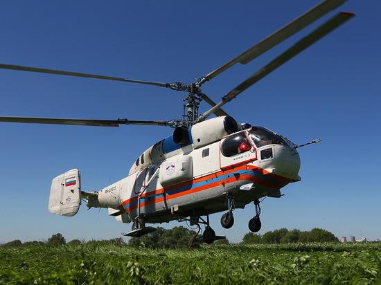 Вертолетом из области в Тверь доставили тяжелобольного мужчину