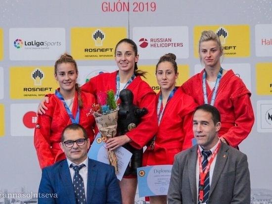 Сотрудница ГУФСИН Прикамья стала трехкратной чемпионкой Европы по самбо