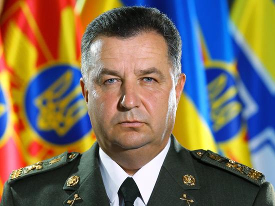 Полторака решили оставить на посту министра обороны Украины0