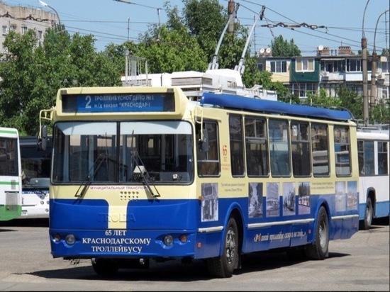 Общественники сообщают о закрытии троллейбусных линий на улице Красной в Краснодаре