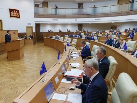 Куйвашев отчитался перед депутатами о работе правительства