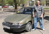 Волгоградец с инвалидностью добрался до Грузии на автомобиле