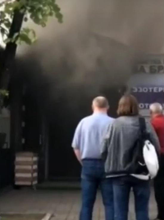 В центре Ярославля тушили памятник архитектуры