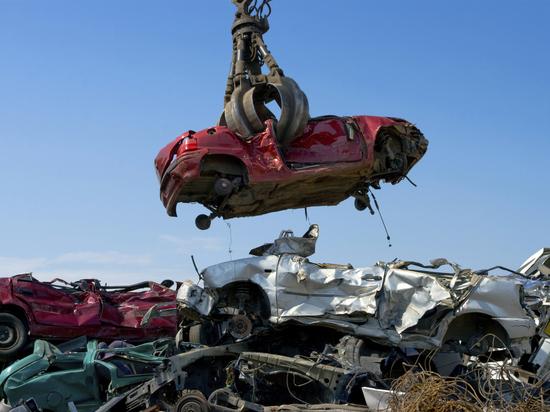 Житель Гурьевска угнал машину калининградца чтобы сдать её на металлолом