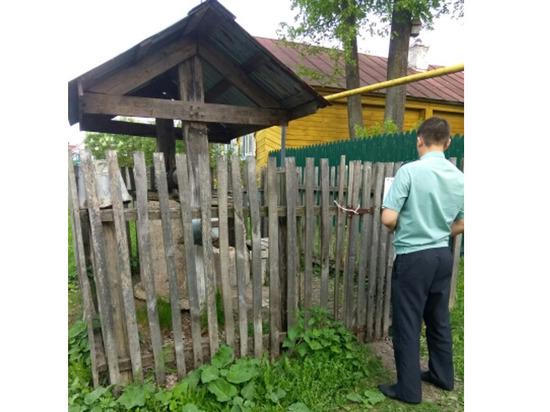 В Цивильском районе приставы опечатали колодец с опасной водой