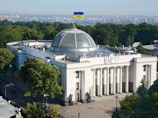 Рада отказалась рассматривать законопроект Зеленского о выборах