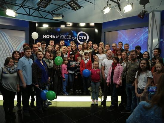 Как устроено телевидение: более 1300 человек посетили ОТВ в «Ночь Музеев»