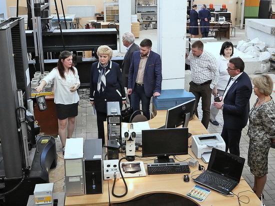 Воронежский опорный вуз посетила вице-президент РАН