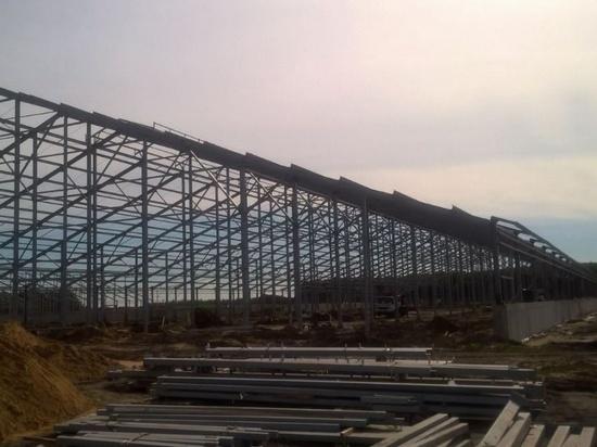 Под Рязанью продолжается строительство крупной фермы