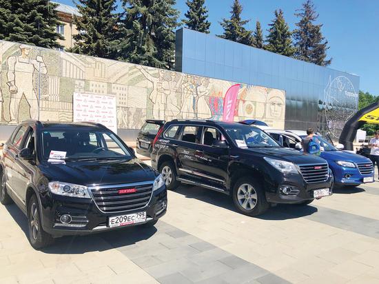 Уникальное мотор-шоу состоялось на празднике «Московского комсомольца»