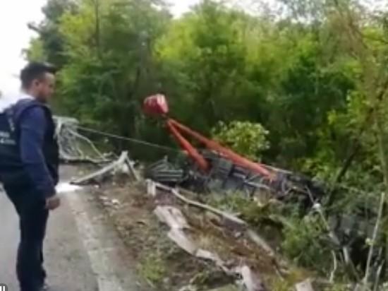 В ДТП в Италии погибла россиянка, пострадали 19 граждан РФ