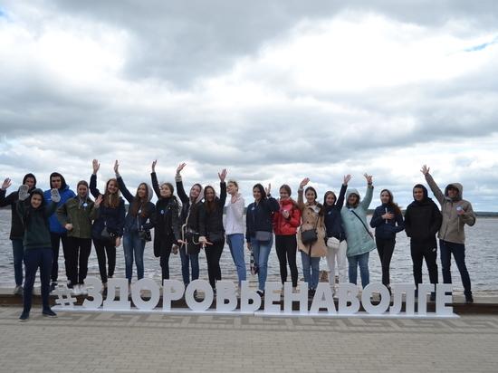 В Чебоксарах прошла экологическая акция «Чистая Волга»