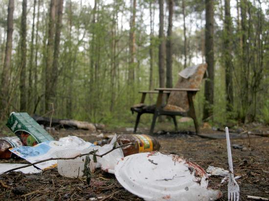 """92-летняя ветеран объявила тихую """"войну"""" отдыхающим, прибирая за ними в лесу"""