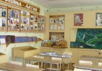 Школьная столовая на Алтае работает без посуды