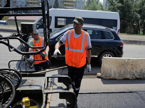 В Омске начался ремонт дорог