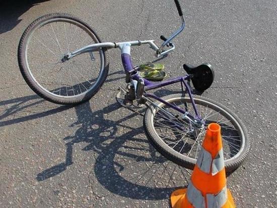 В Оренбурге велосипедист нарушил правила и столкнулся с машиной