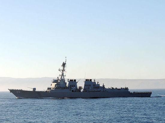 Два корабля ВМС США прошли через Тайваньский пролив