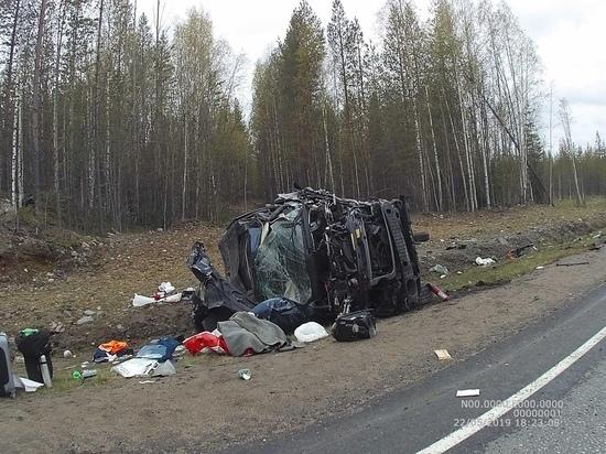 Смертельное ДТП произошло на трассе «Кола» в Карелии