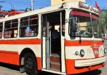 В Кирове восстанавливают ретро-троллейбус