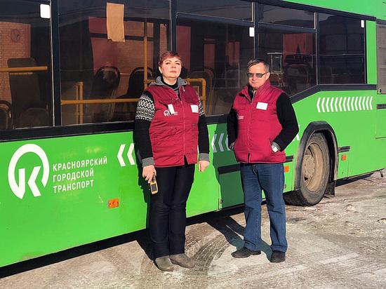 Красноярских перевозчиков обязали оформить автобусы в едином стиле