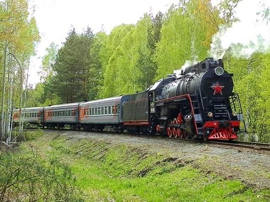На СвЖД разрабатывается маршрут для запуска экскурсионных ретро-поездов на паровой тяге