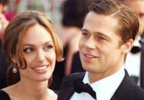Анджелина Джоли помирилась с Бредом Питтом
