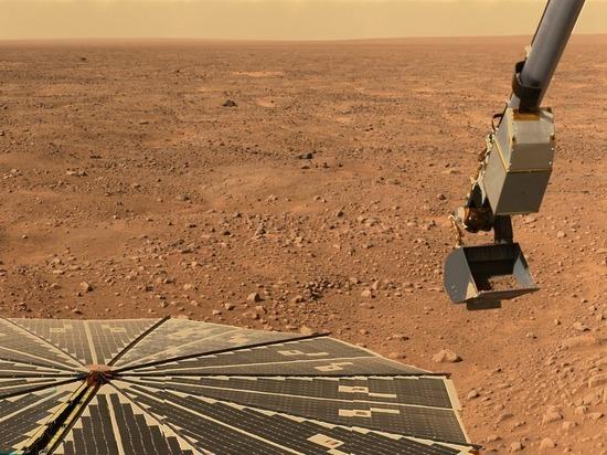 На Марсе обнаружили таинственные залежи минералов