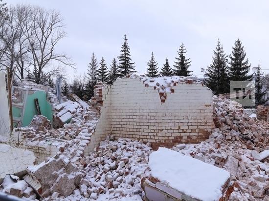 В Казанском кремле прокомментировали снос Арских казарм
